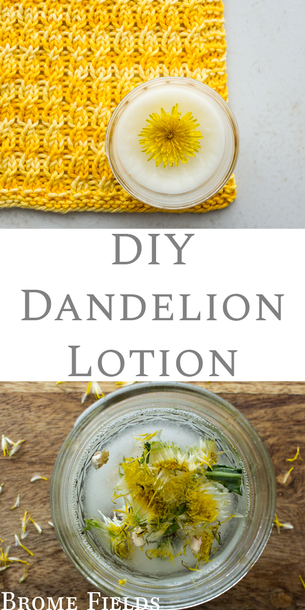 DIY Dandelion Lotion Recipe
