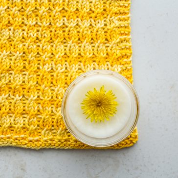 SPRIGHTLY Dishcloth Knitting Patterns by Brome Fields