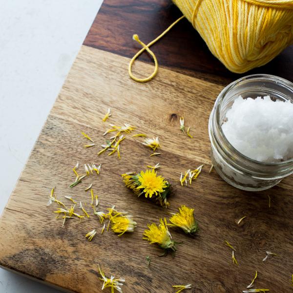 DIY Dandelion Lotion Recipe