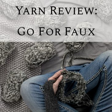Yarn Review Video : Go for Faux by Lion Brand Yarn