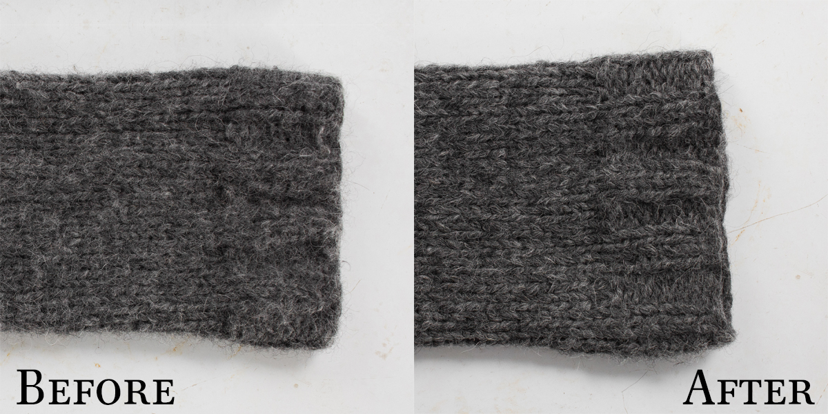Shaver Before & After Feeling Good Yarn
