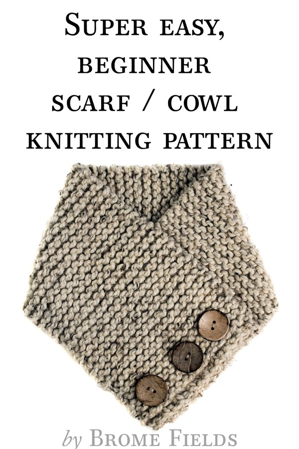 FREE TRUST : Scarf Cowl Knitting Pattern by Brome Fields