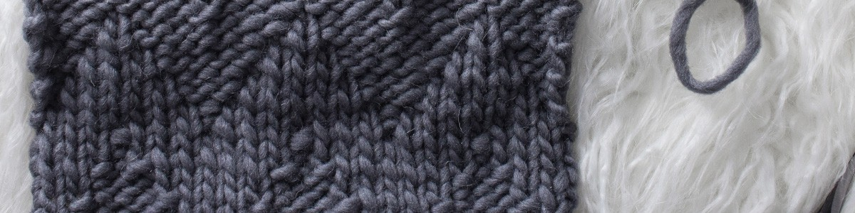 Chevron Knit Stitch : Day 16 of the 21 Days of Beginner Knit Stitches : Brome Fields : #21daysofbeginnerknitstitches
