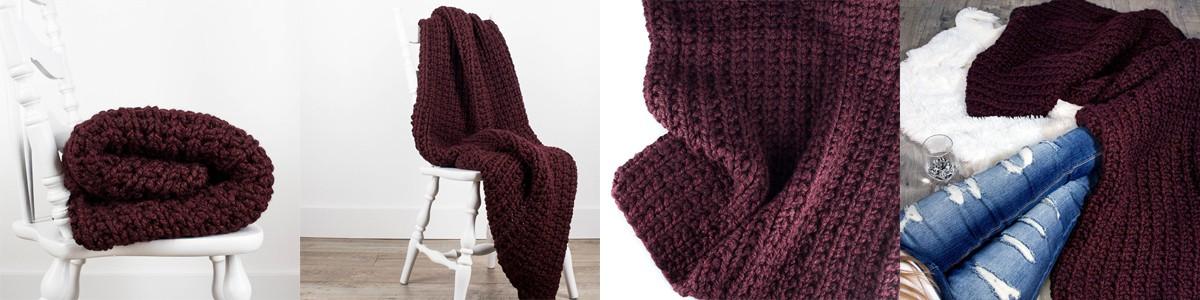 Free Wandering Blanket Knitting Pattern Brome Fields
