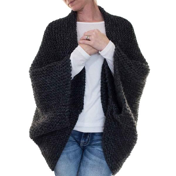 {FREE} MEDITATION : Cocoon Blanket Sweater Knitting ...