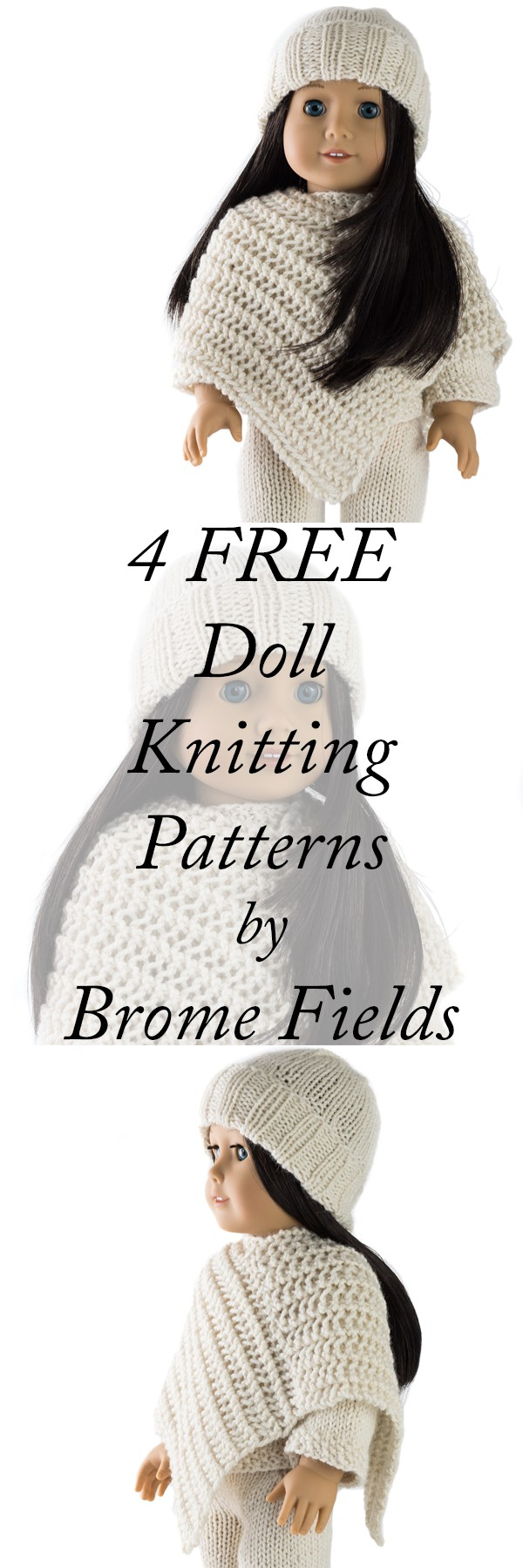 4 FREE American Doll Knitting Patterns