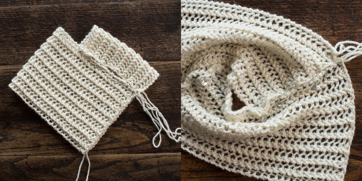 Cozy Doll Poncho Knitting Pattern