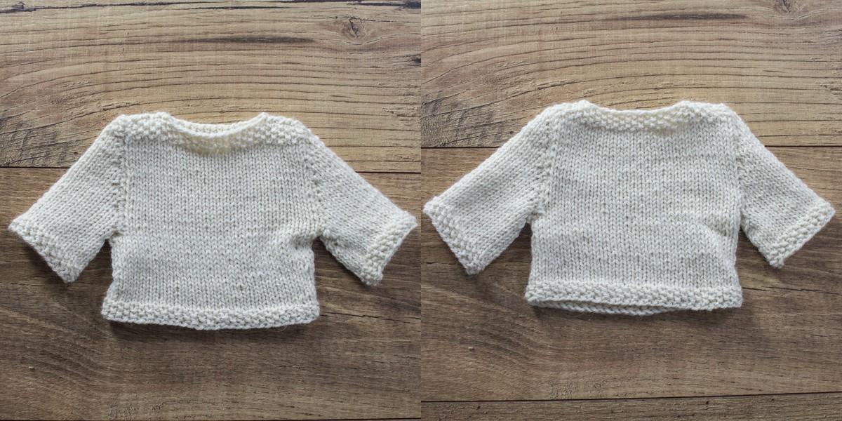 Cozy Doll Poncho FREE Knitting Pattern