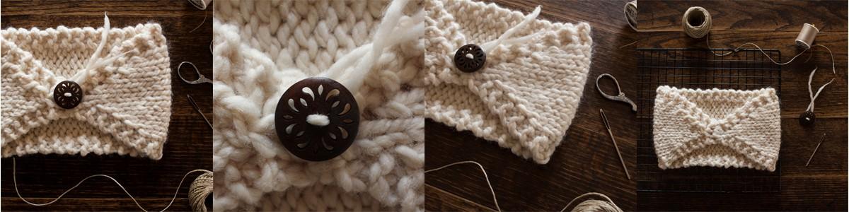 Gauge : FREE Headband Knitting Pattern by Brome Fields