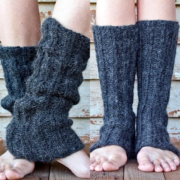FREE Leg Warmer Knitting Pattern! by Brome Fields