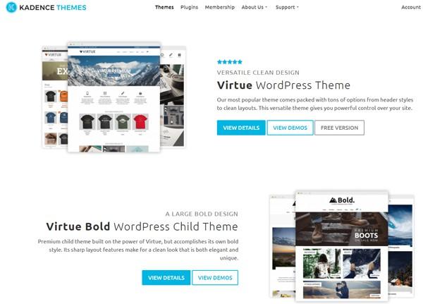 Kadence Themes Screenshot