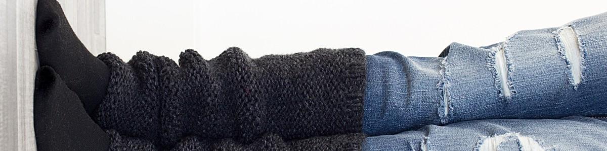 FREE Leg Warmer Knitting Pattern : Garter Stitch : Knit Flat : Brome Fields