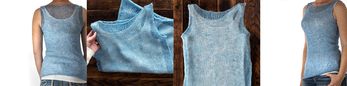 Super Easy Tank Top Knitting Pattern
