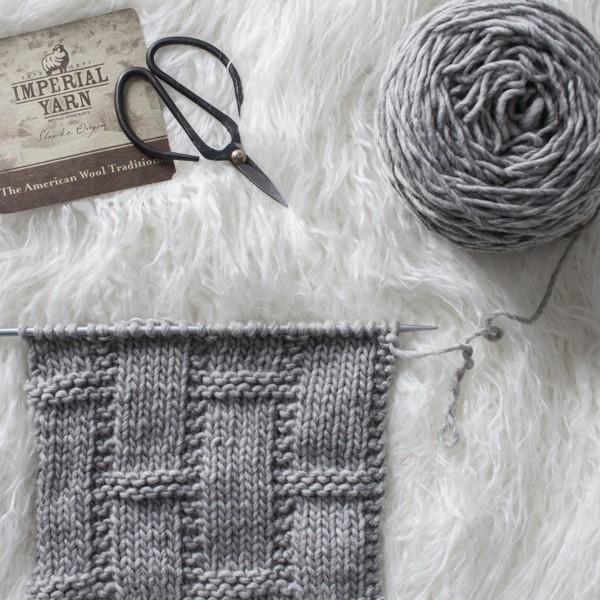 Basketweave Knit Stitch : Day 14 of the 21 Days of Beginner Knit Stitches : Brome Fields : #21daysofbeginnerknitstitches