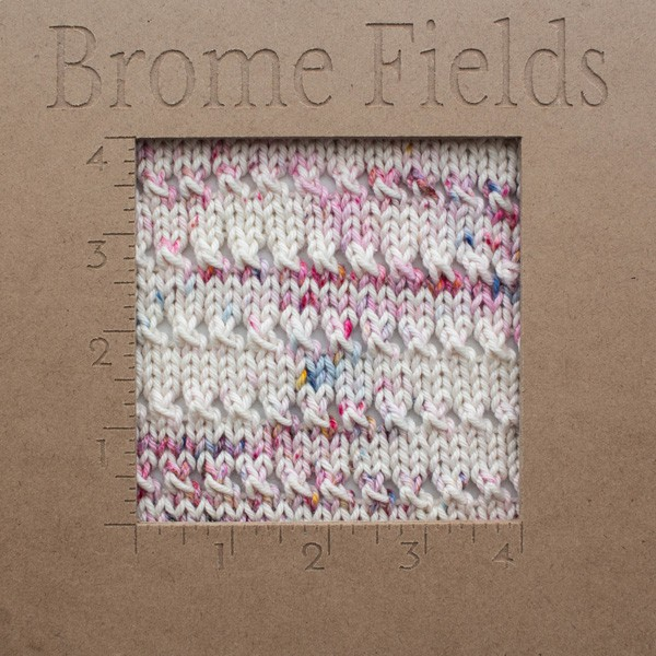 {FREE} Dishcloth Knitting Pattern Gauge : EUPHORIA : Brome Fields