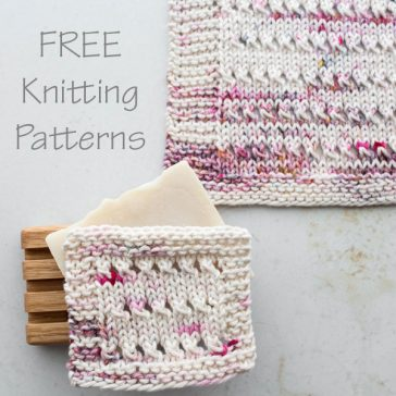 {FREE} Dishcloth Knitting Pattern : EUPHORIA : Brome Fields
