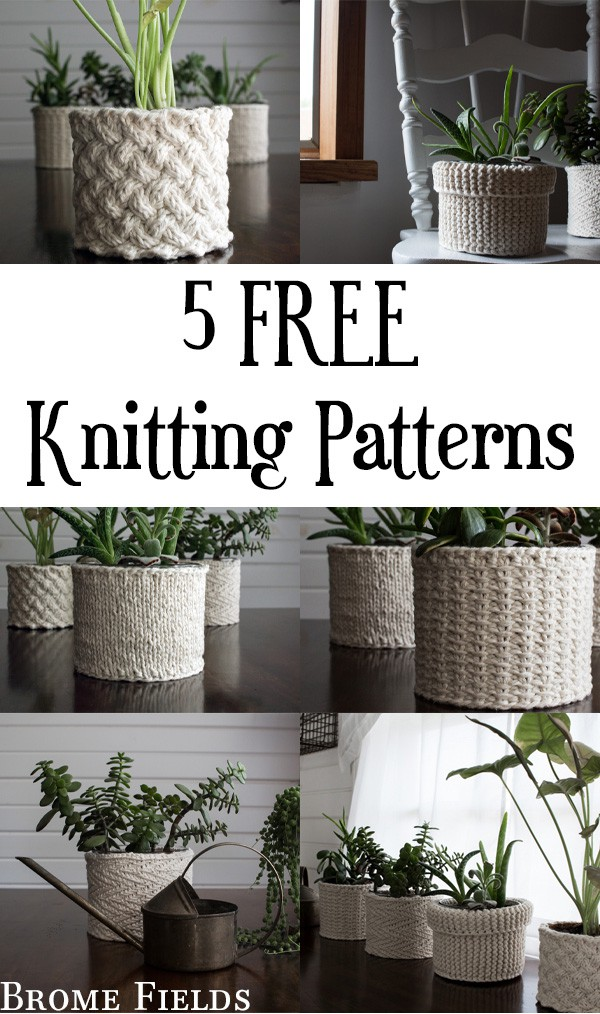 5 FREE Knitting Patterns!