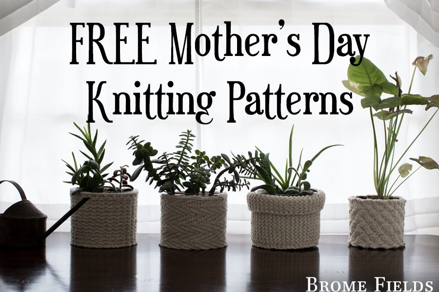 5 FREE Mother's Day Knitting Patterns