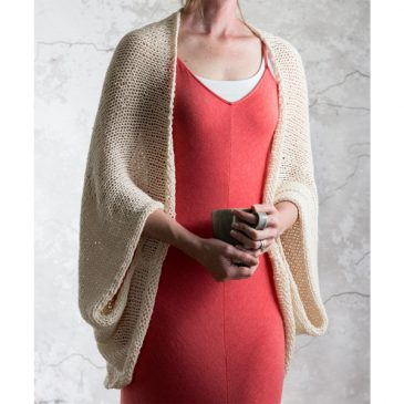 {FREE} Summer Shrug Knitting Pattern : INTROSPECTION : Brome Fields