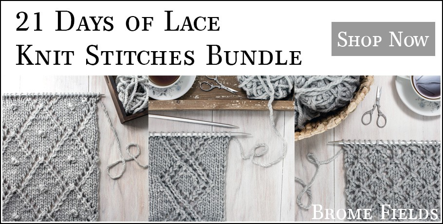 21 Days of Lace Knit Stitches Bundle