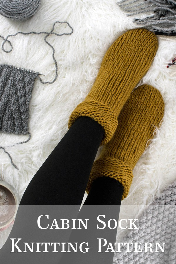 multiple photos of knitted socks on a fur blanket