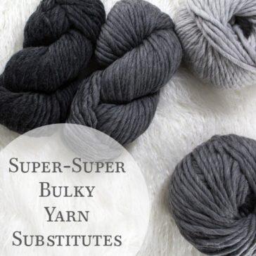 super bulky yarn hanks and balls