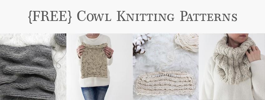 Free Cowl Knitting Patterns