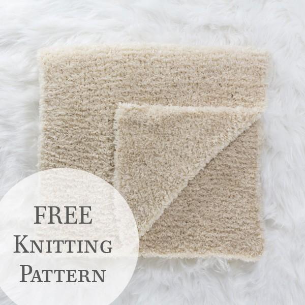 knit scarf on a fur blanket