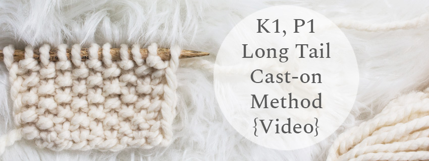 knit swatch on a fur blanket